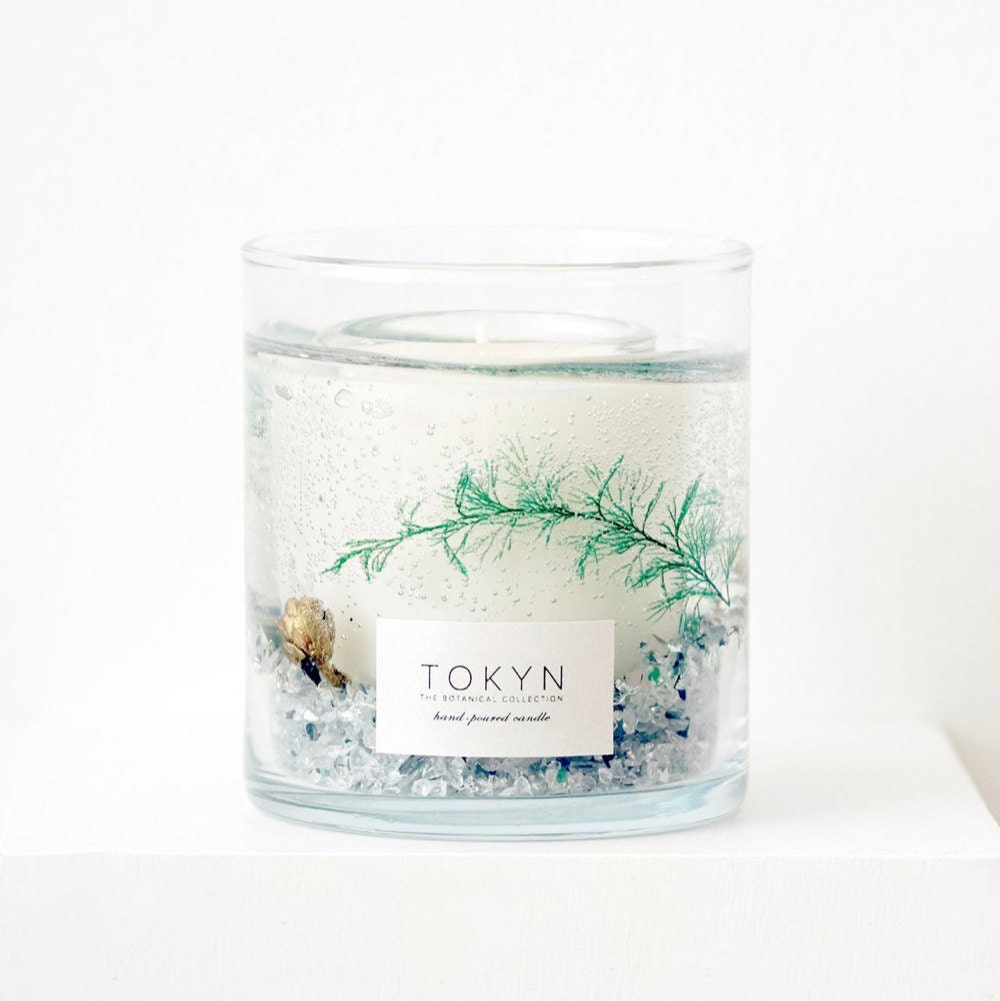 Toyama forest mist candle from Tokyn Candles