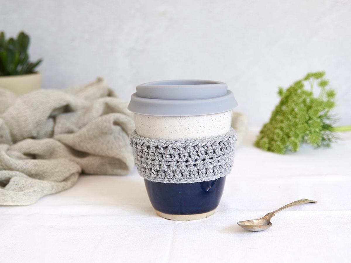 An eco-conscious ceramic travel mug from Etsy.