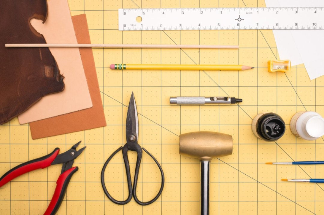 supplies for DIY barrettes