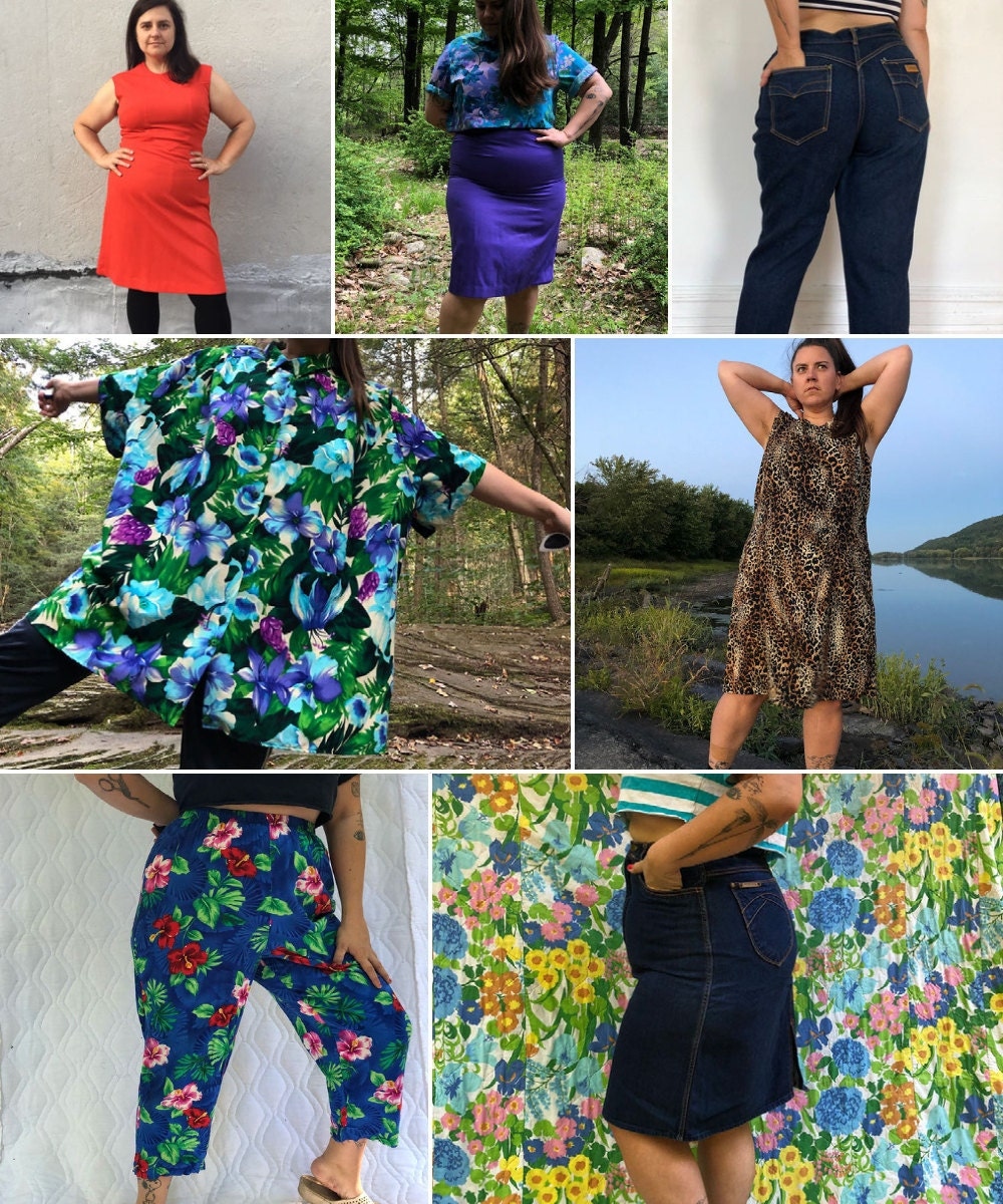 Plus-size vintage clothing from Jazzy Outfitters