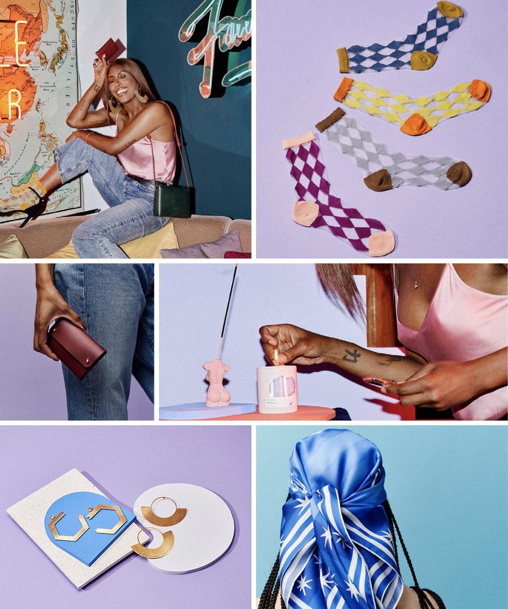 Items from DJ Honey Dijon's Etsy Creator Collaboration