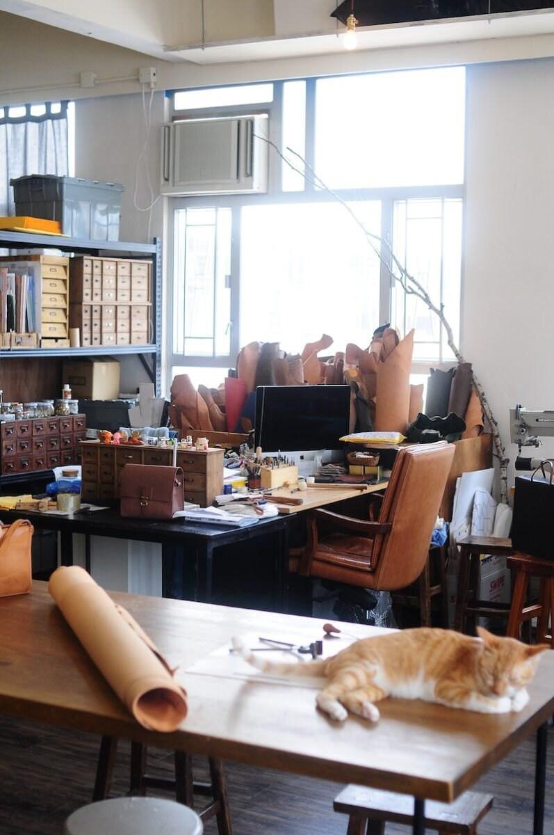 Joe Wong's sunny Hong Kong studio