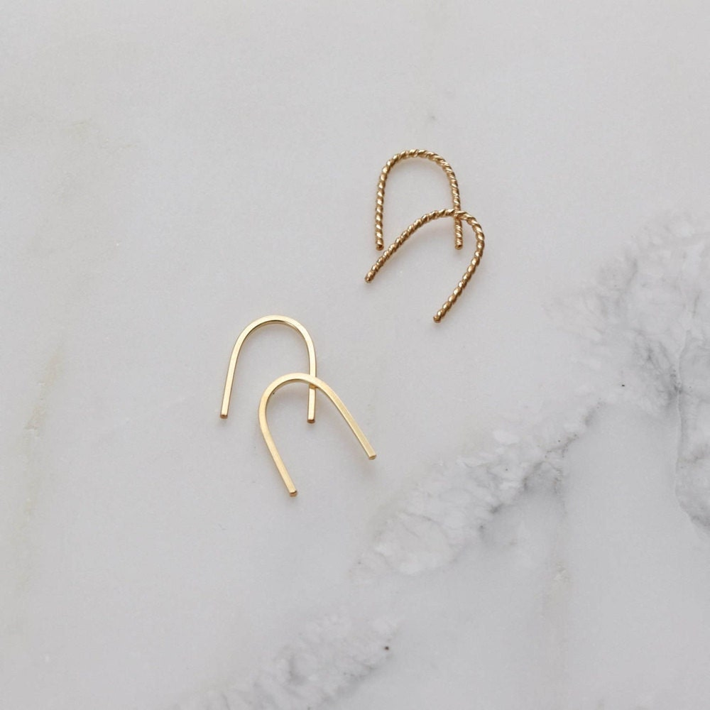 Small gold hoops from Everli