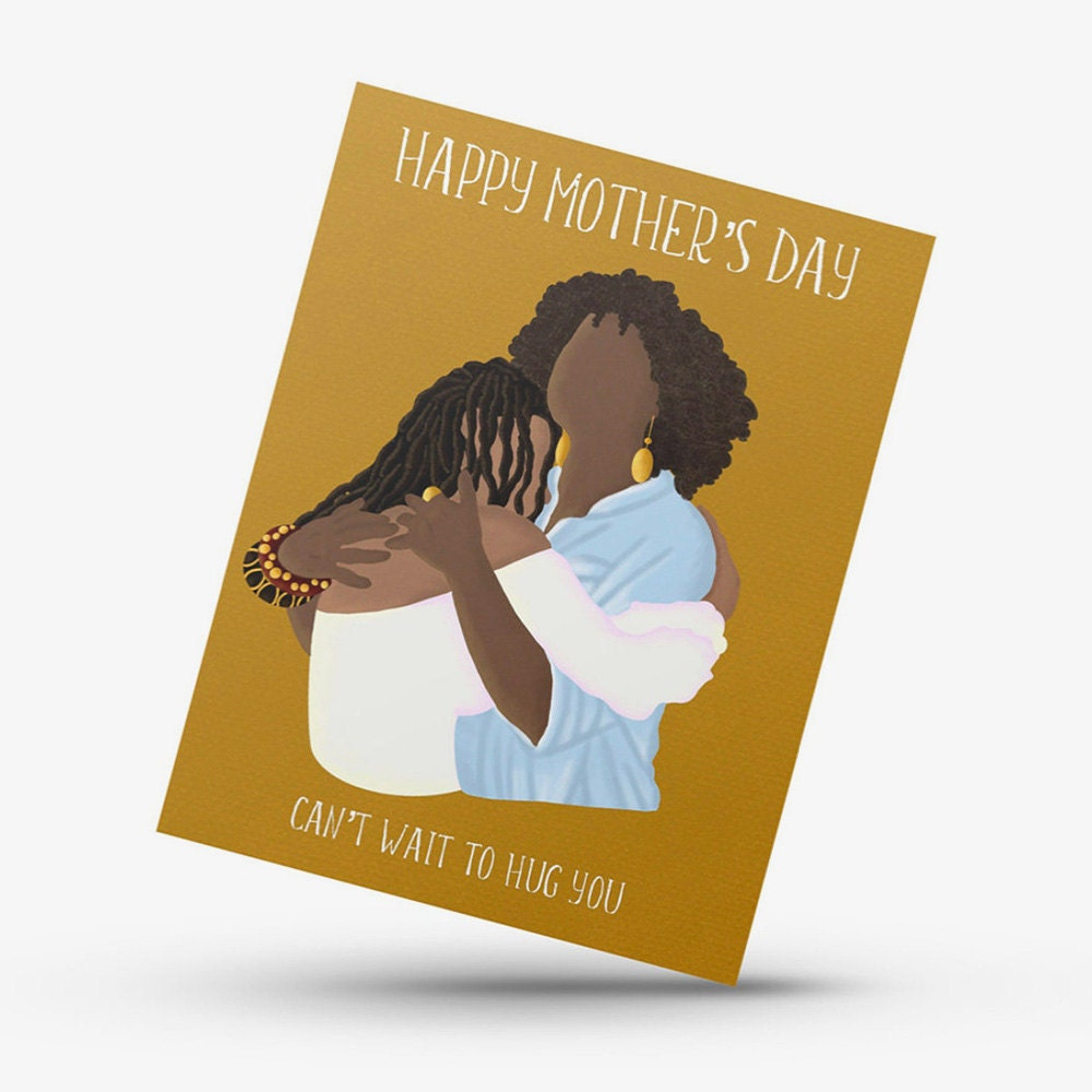 A unique Mother's Day card for a mom you can't wait to hug