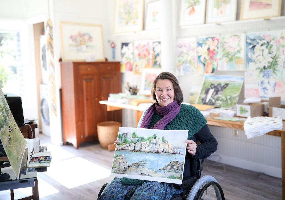 Inspiring Workspaces: Shirley Bell