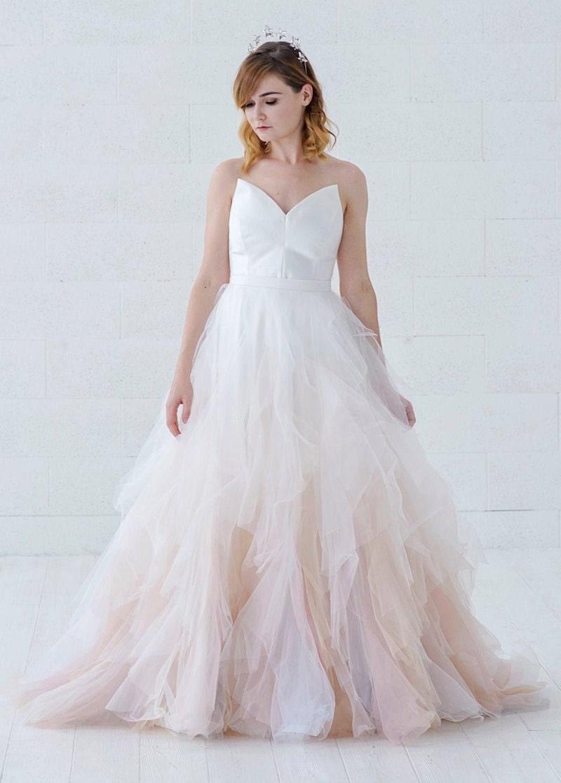 Nayeli ombré bridal skirt from wardrobe by Dulcinea