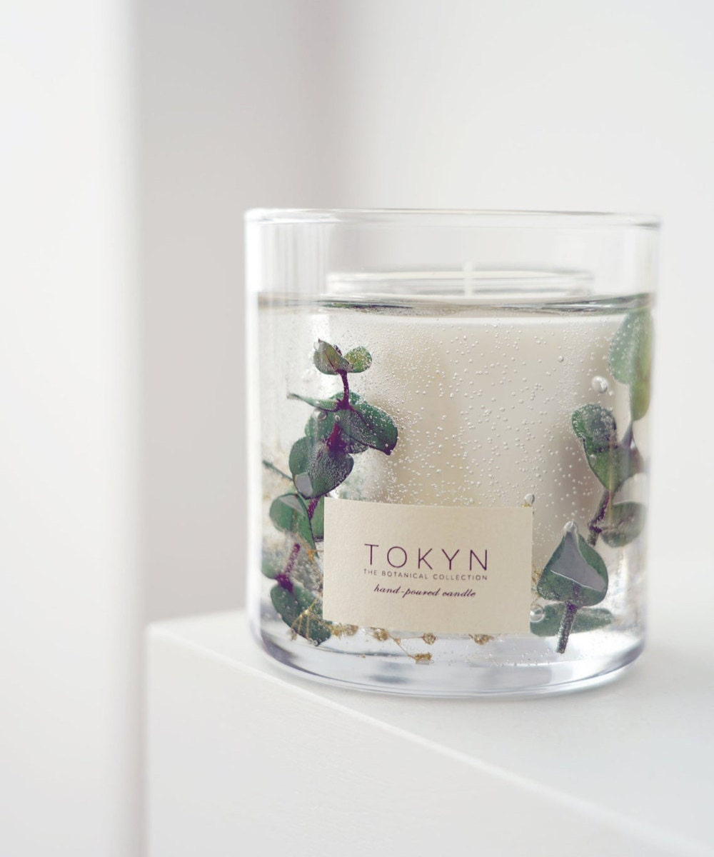 Toyama forest-scented soy candle from Tokyn Candles
