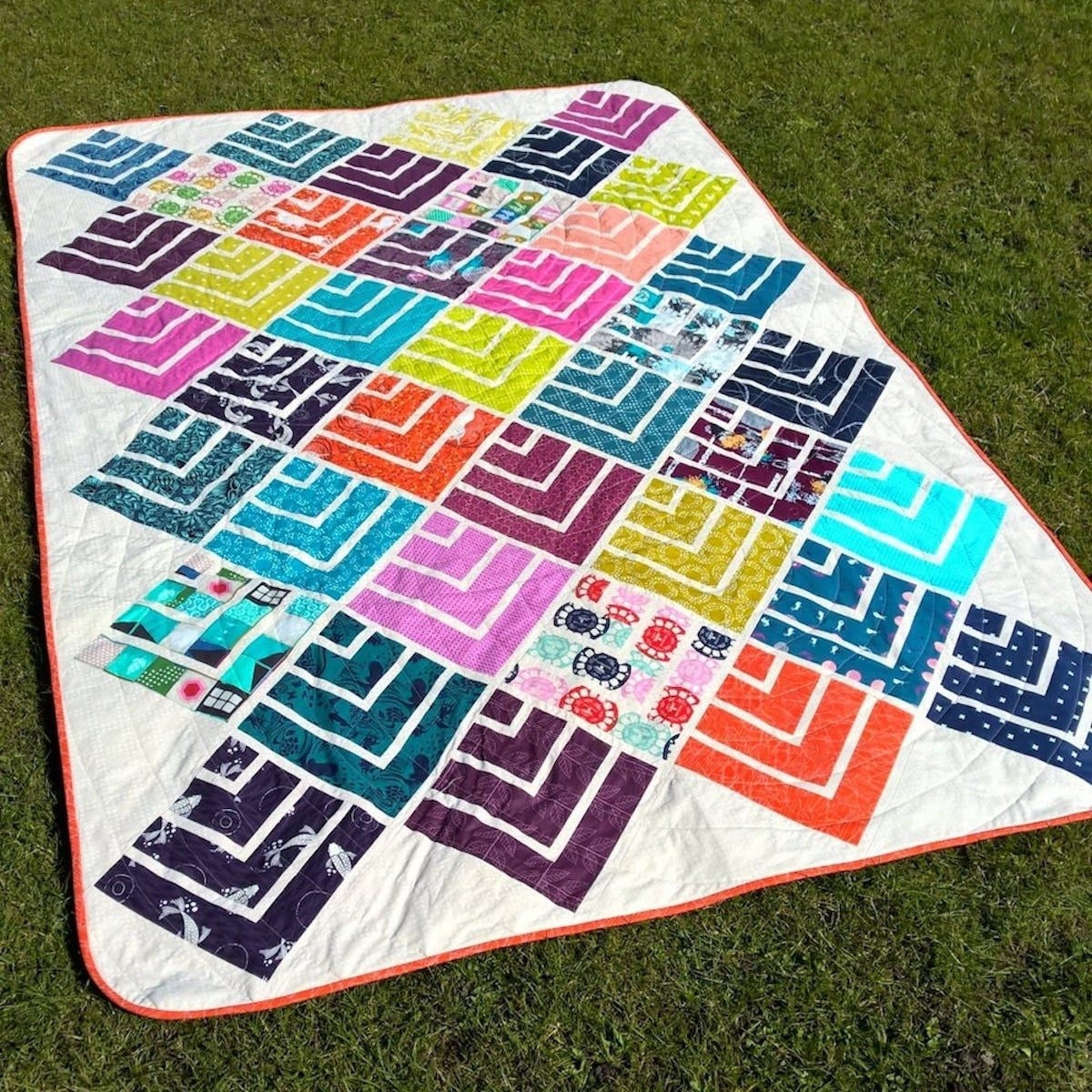 A beginner-friendly quilt pattern from Etsy
