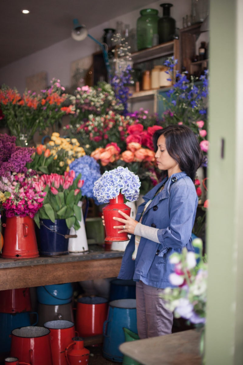 Scouting for floral inspiration