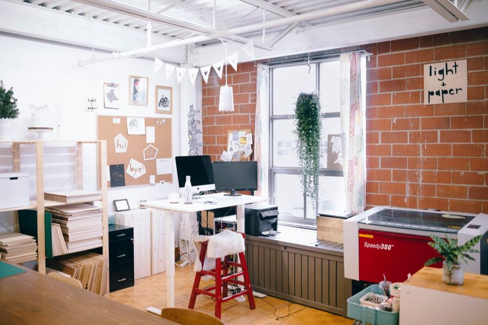 Ali's Toronto-based studio.