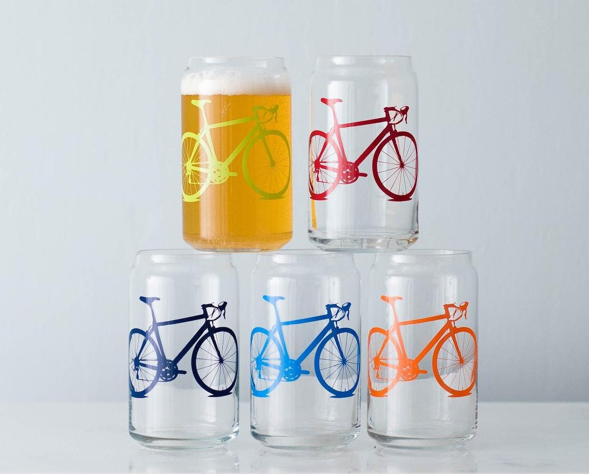 Bicycle can glasses from Vital Industries, and more of the best dad gifts from Etsy