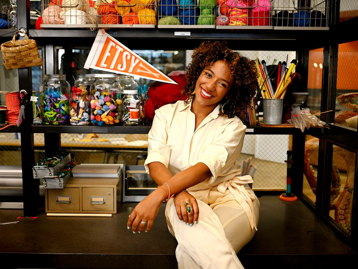 Portrait of Etsy Trend Expert Dayna Isom Johnson