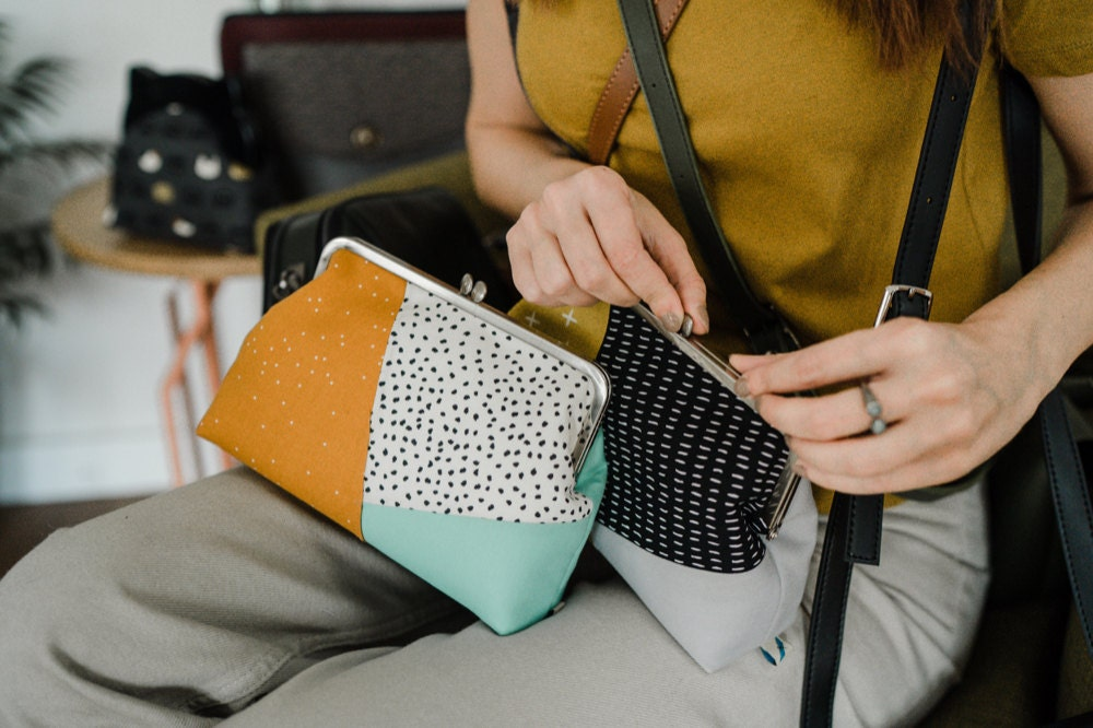 Assorted clutches from Boejack Design