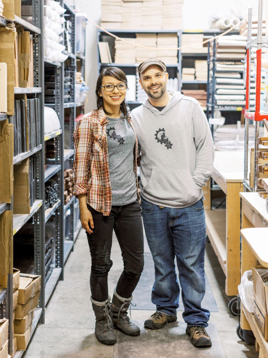 Megan Hanneman and Mike Wilson, co-owners of Catastrophic Creations