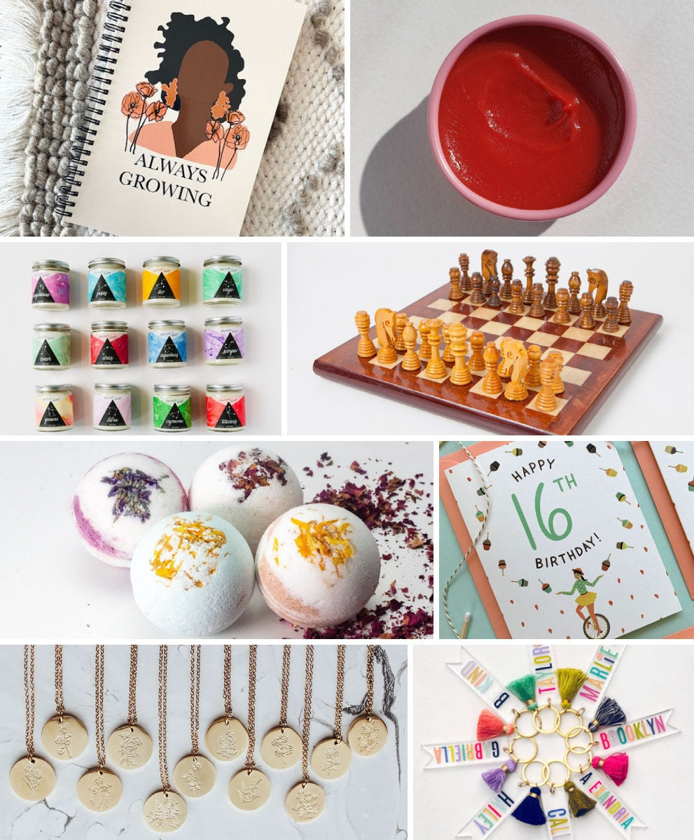 Unique 16th birthday gift ideas from Etsy