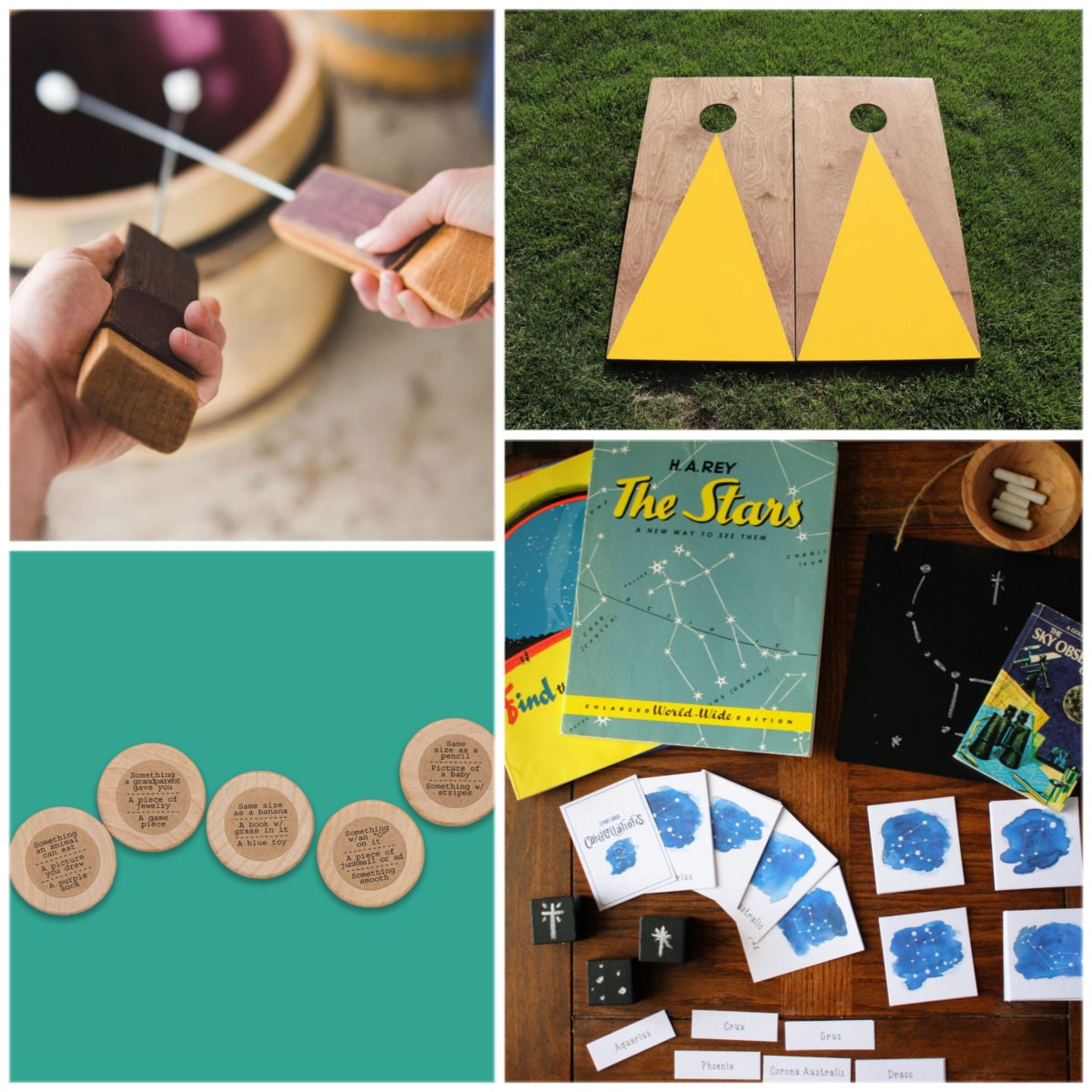 Activities for creating summer camp at home from Etsy