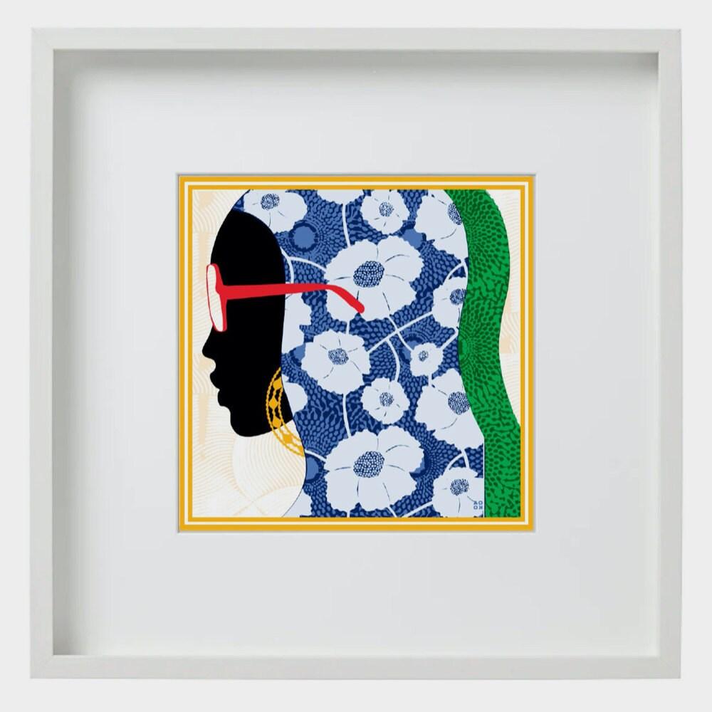 """A """"Dakar, TX"""" art print from All Very Goods"""