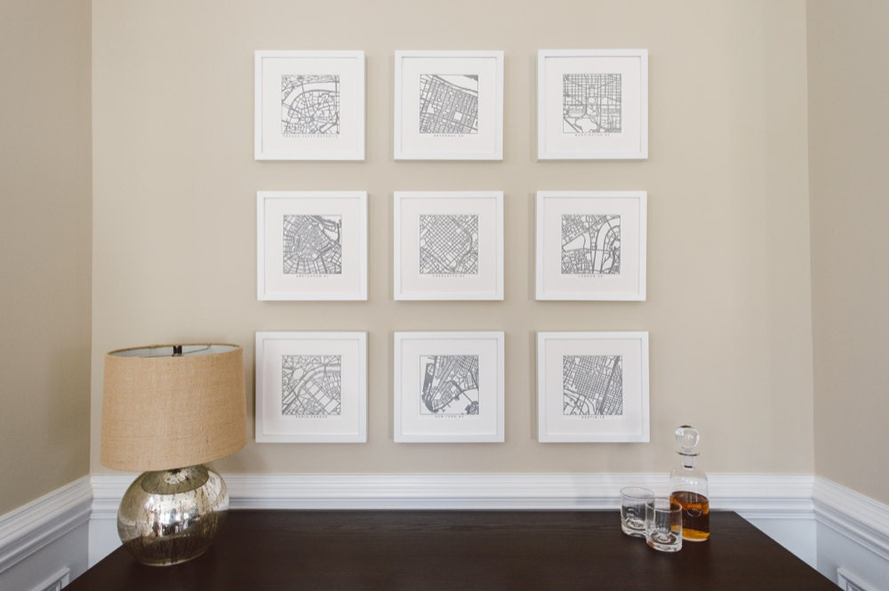 Curated image with City ink prints from Studio KMO, $35