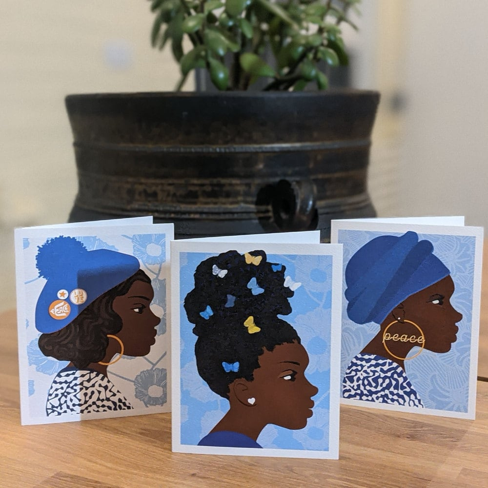 Greeting cards from All Very Goods