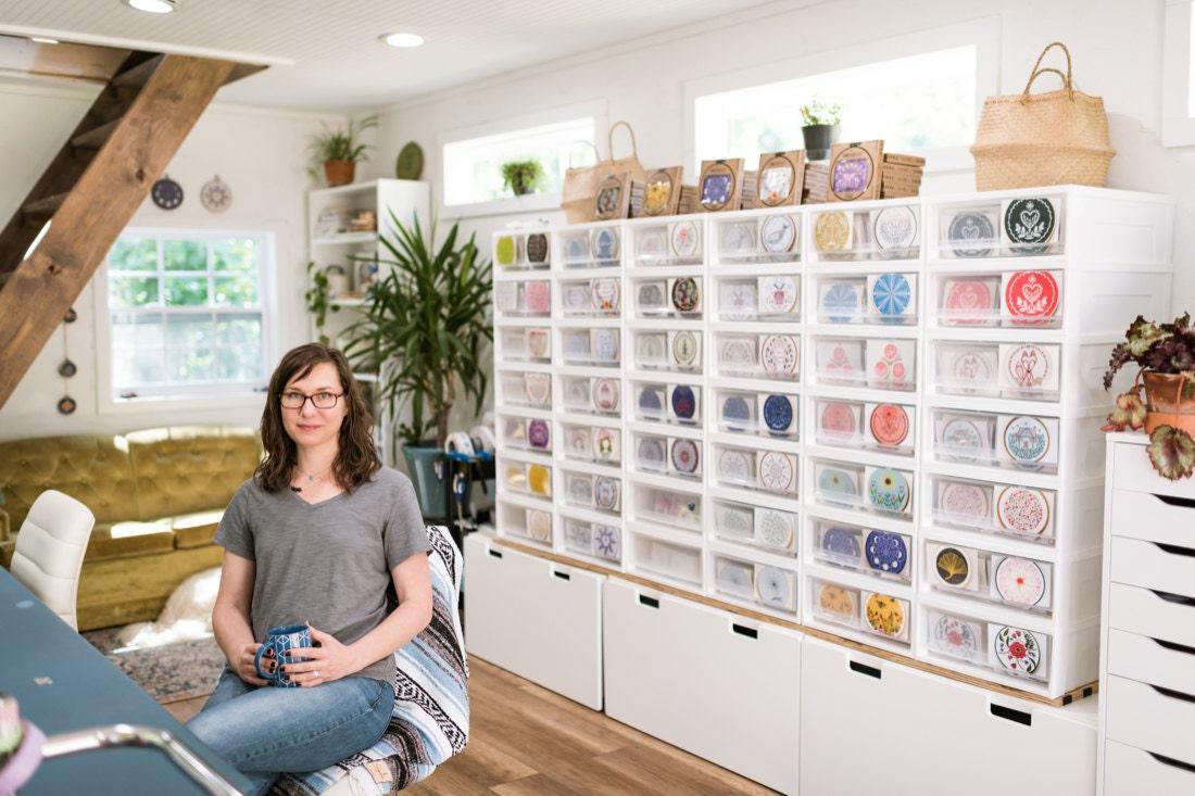 Portrait of Cozy Blue shop owner Liz Stiglets