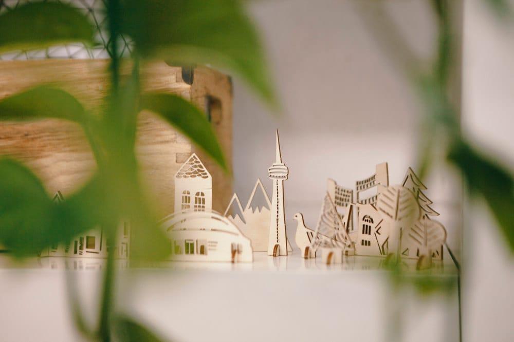 Ali's miniature Toronto cityscape on display