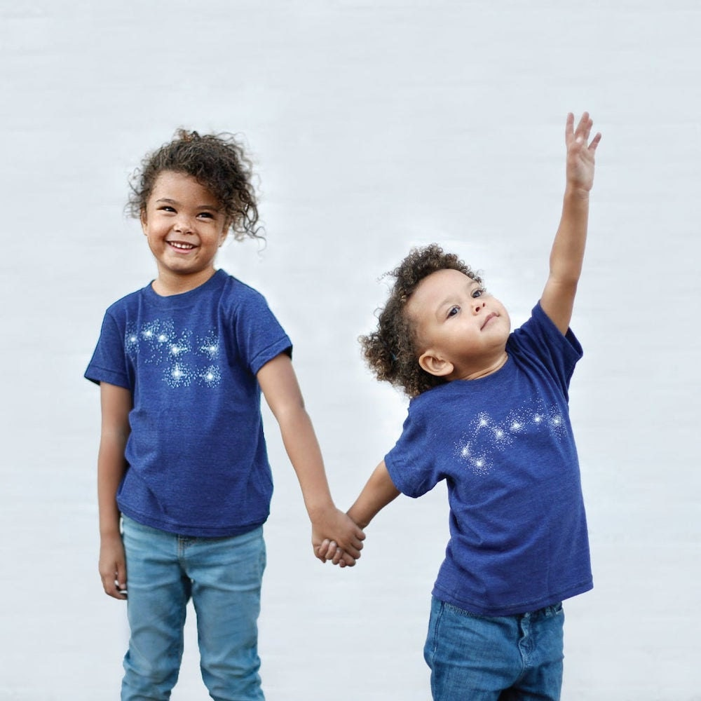 Coordinated big dipper and little dipper fall fashion tees from Blackbird Supply Co.