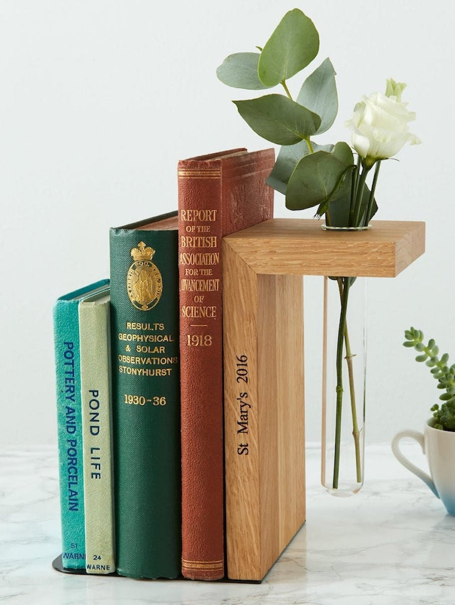 Engraved bookends and other meaningful Mother's Day gifts from Etsy