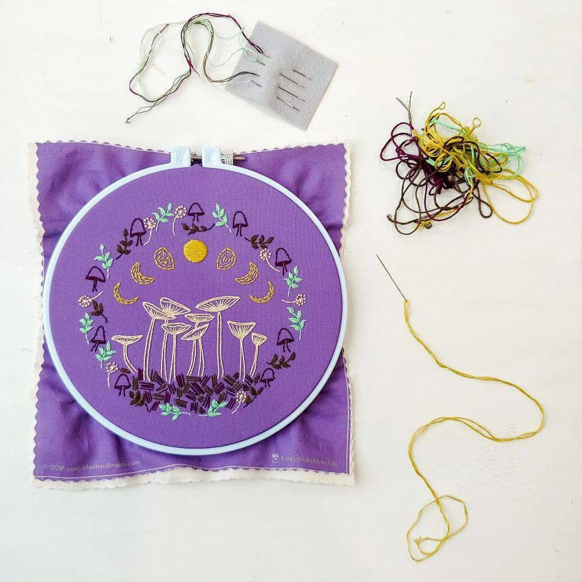 Fairy Ring embroidery pattern from Cozy Blue, $5