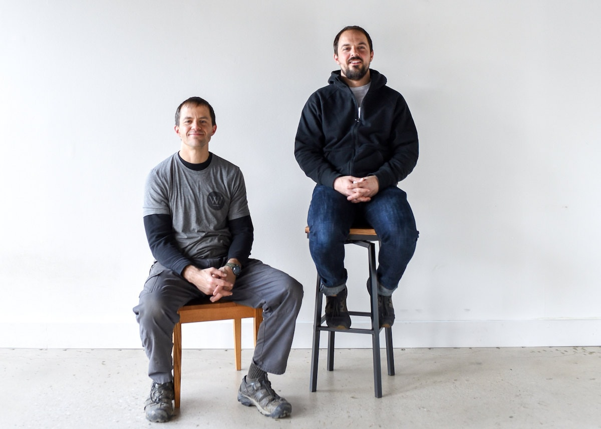 Portrait of What WE Make owners Dan and George Quinn