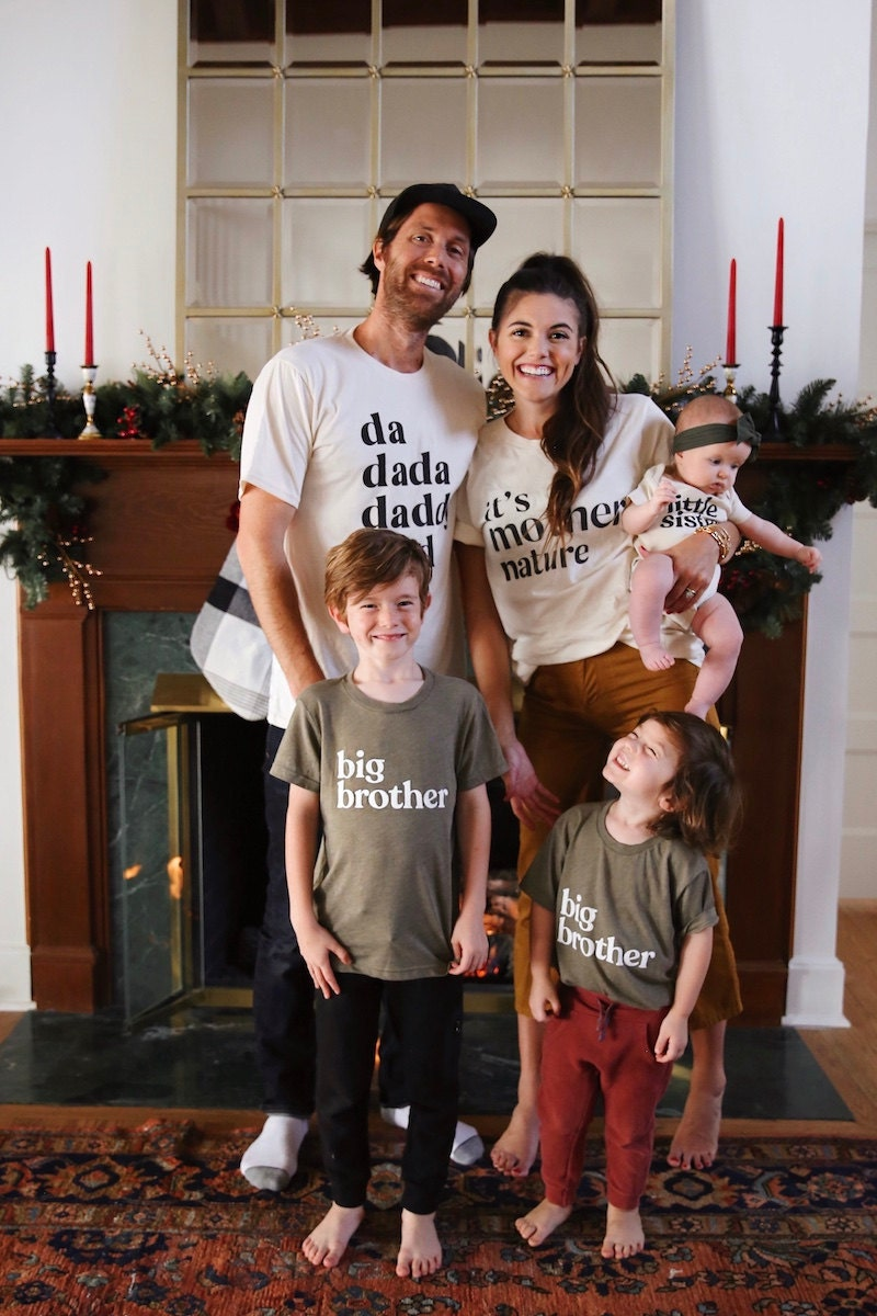 Themed family t-shirts from Etsy