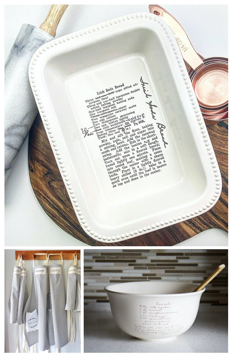 Personalized cooking and baking gifts for Mother's Day, from Etsy
