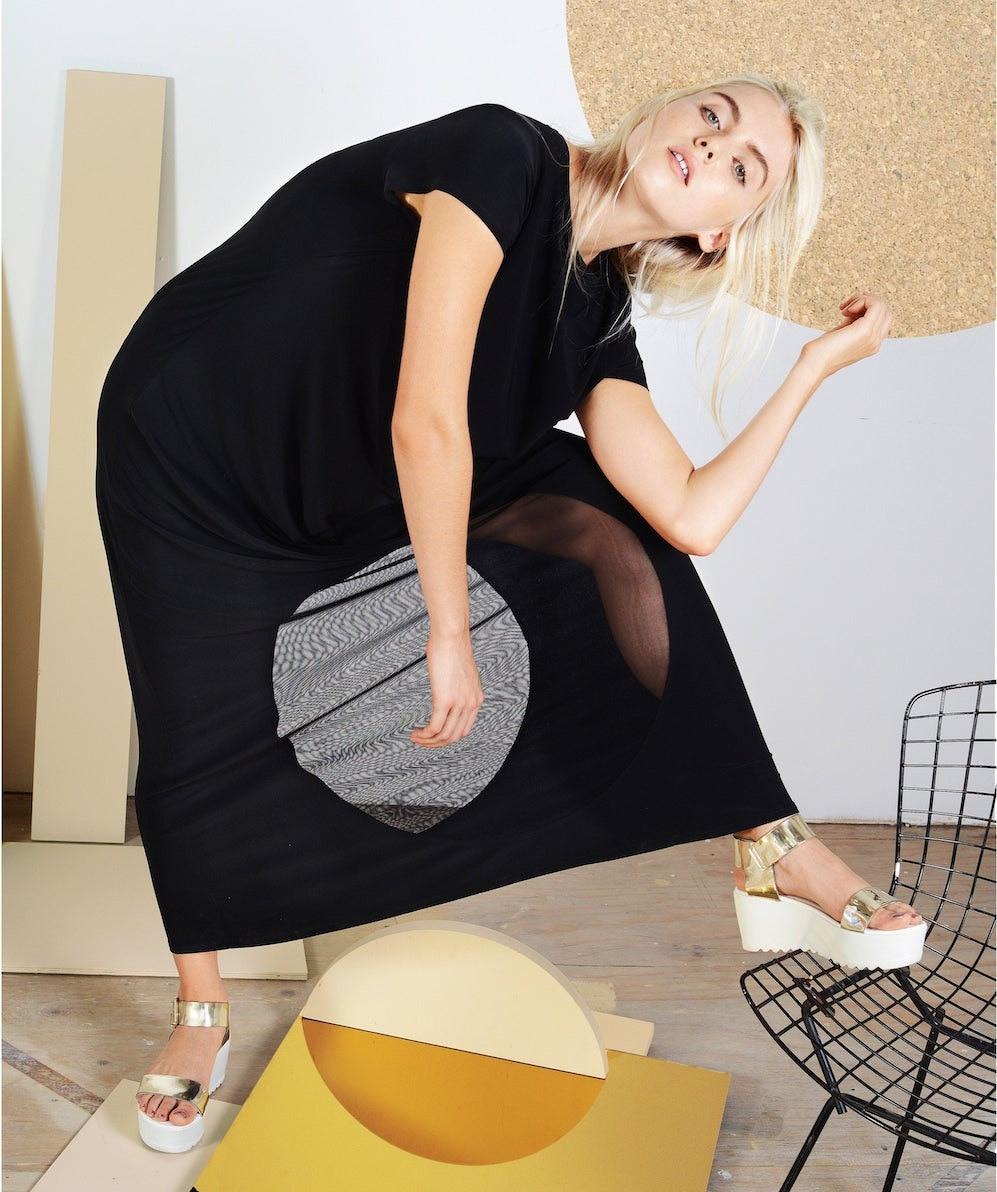 Cut-out maxi dress from Sara Bergman