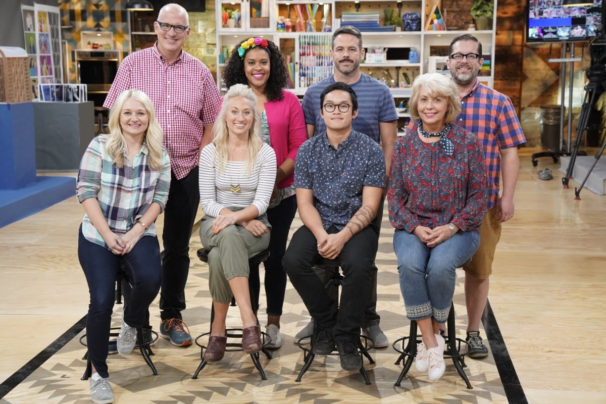 The eight Making It contestants