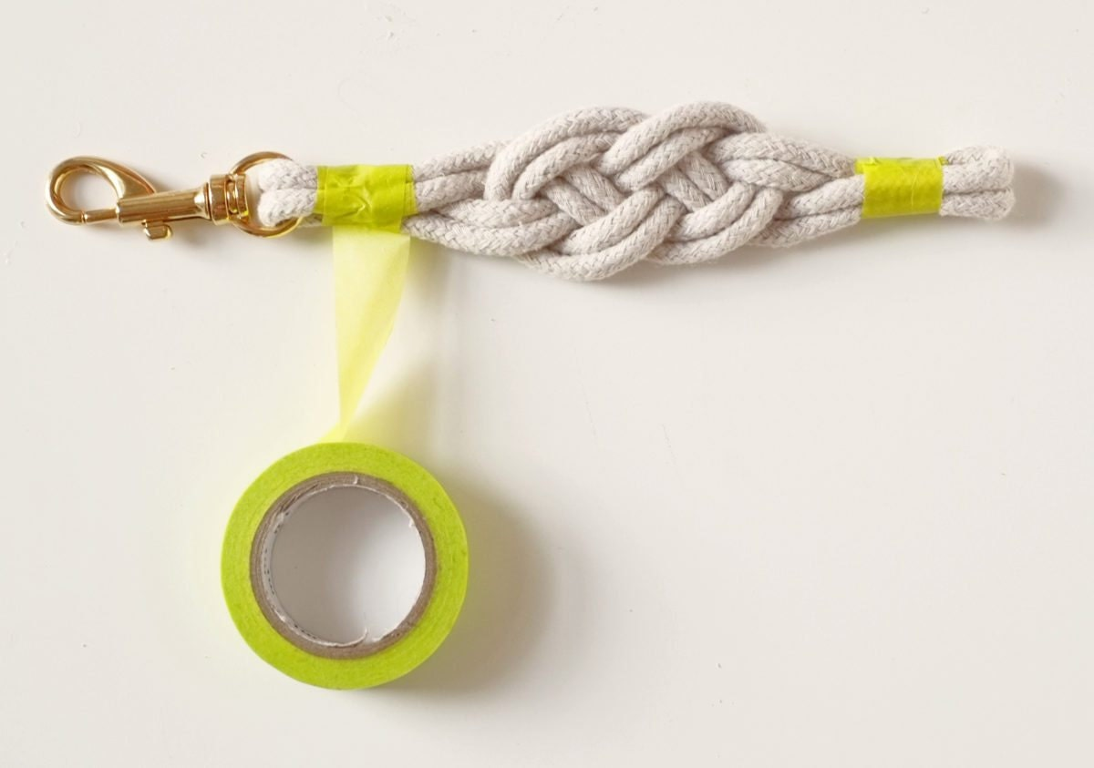 How to make a nautical knot bracelet, with tips from Etsy