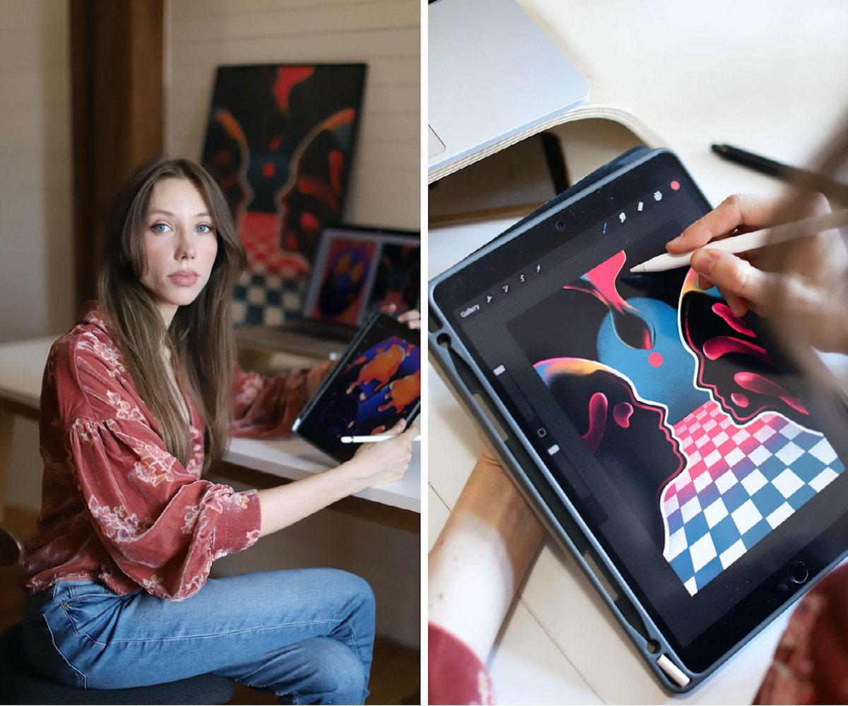 Art prints from Ada Zielinska, part of an Etsy Creator Collab with DJ Honey Dijon