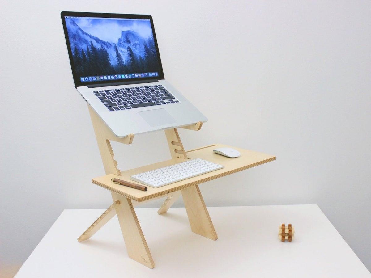 Adjustable standing desk from RLDH
