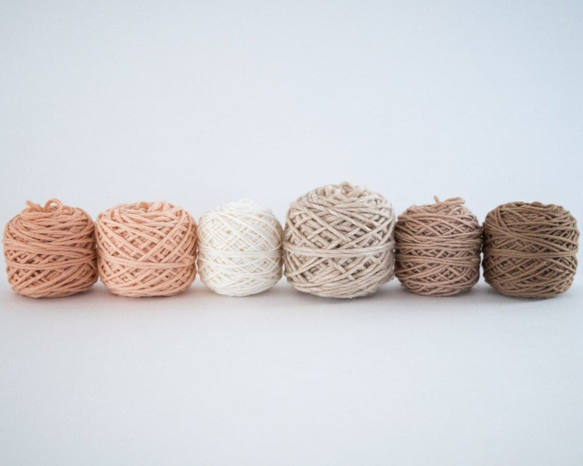 Peachy keen weaving pack from Oake and Ashe
