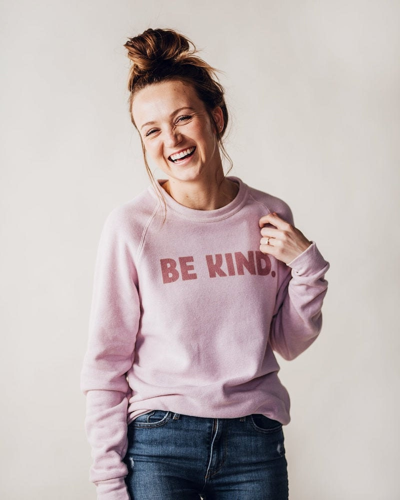 """""""Be kind"""" sweatshirt from August Ink"""