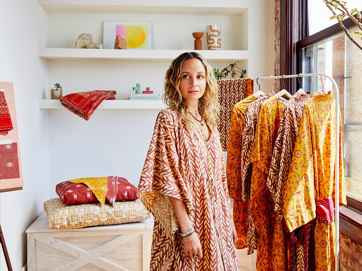 Nicole Richie with items from the House of Harlow 1960 Creator Collab