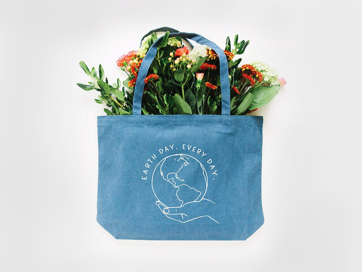Earth Day tote bag from Nature Supply Co.