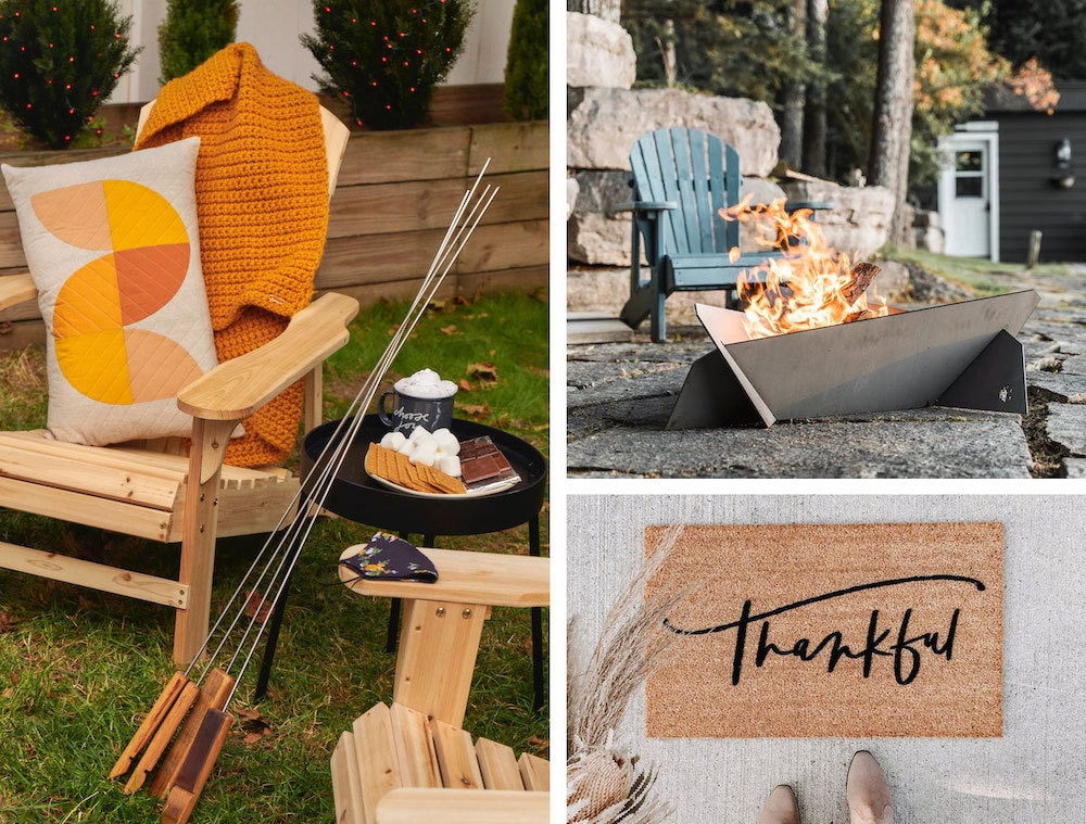 Fire pits, blankets, and more gear you need for entertaining outdoors