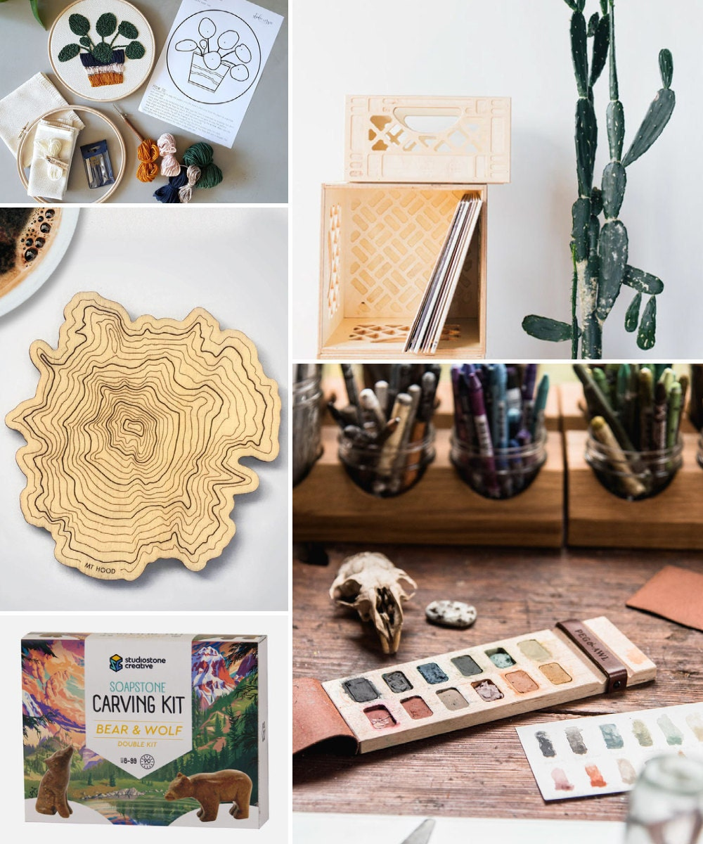 A collage of creative birthday gift ideas hand-picked for Aries