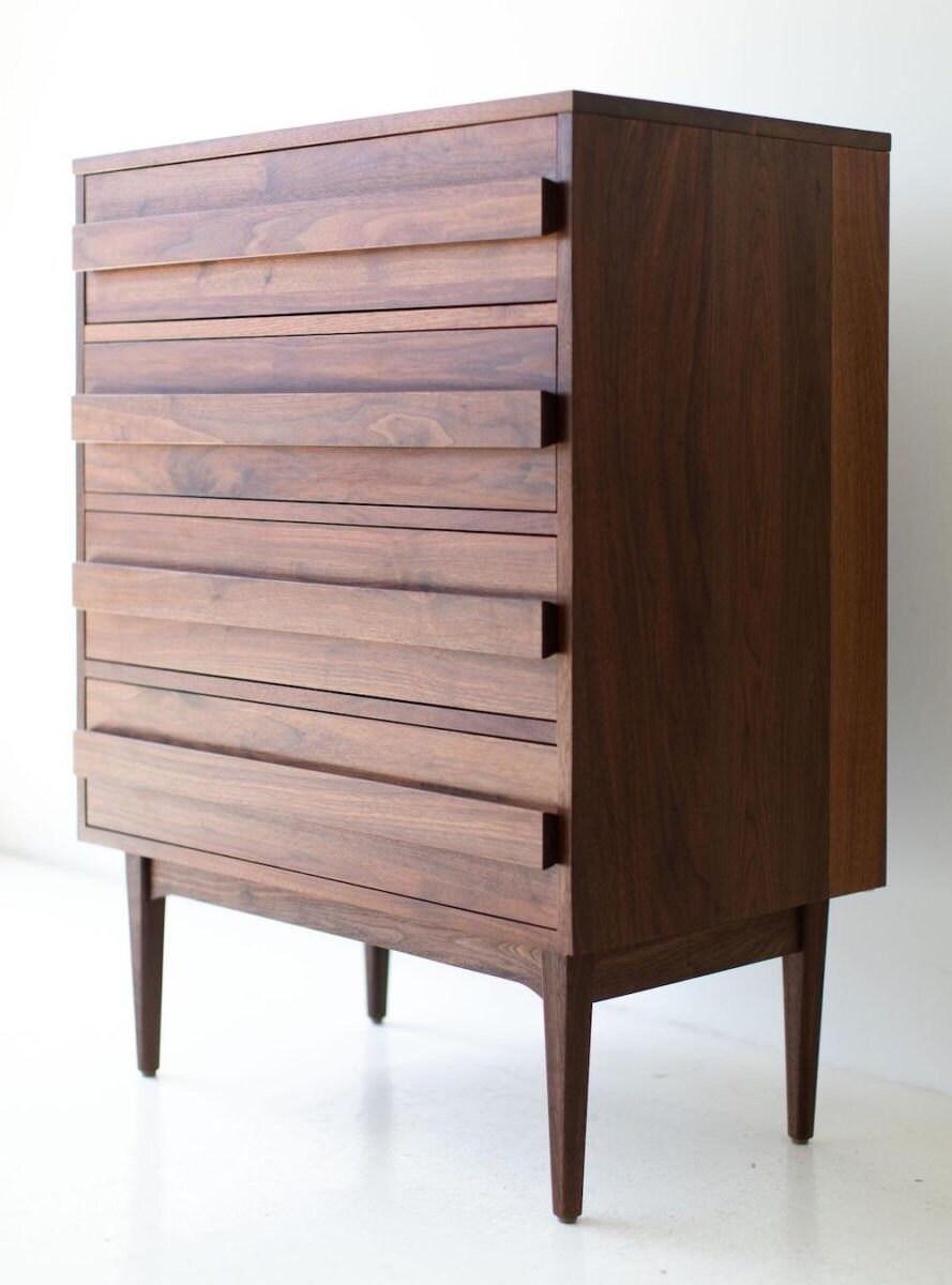 Mid-century modern walnut dresser from Bertu Home