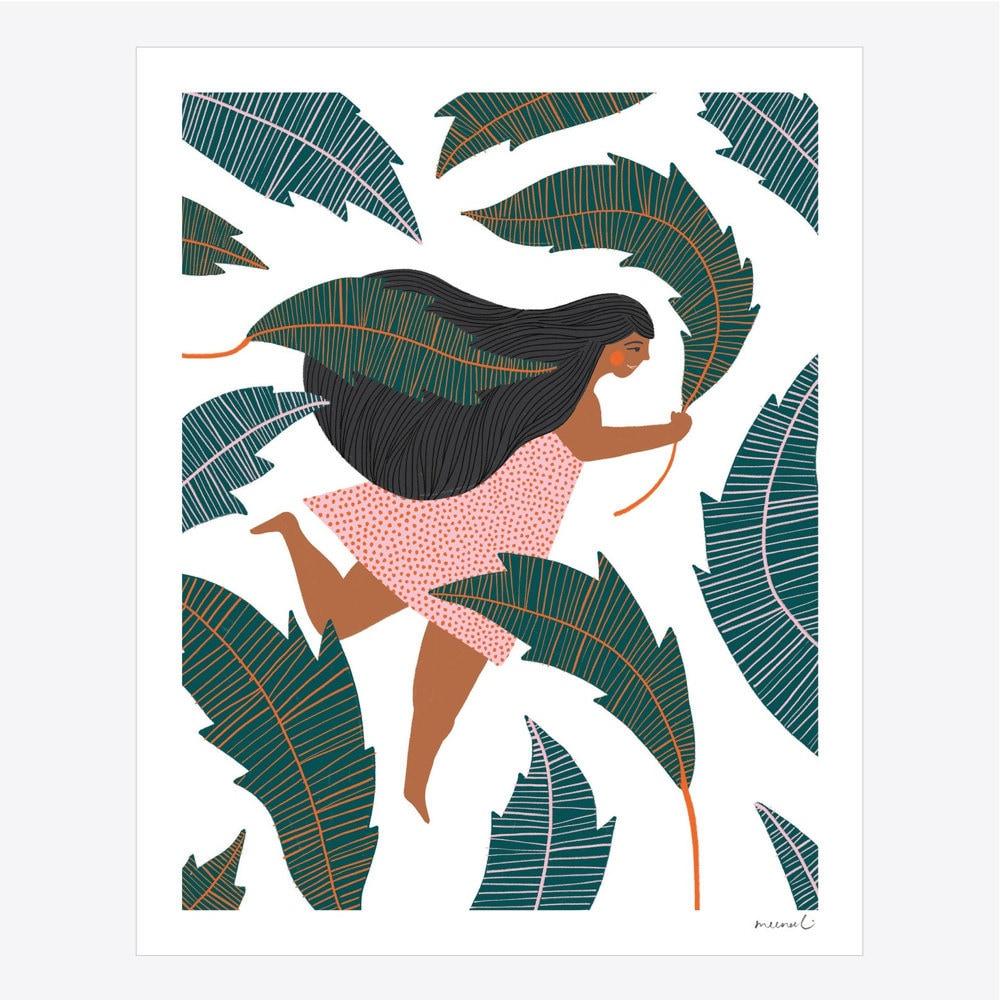 Determination art print from Meenal Patel Studio