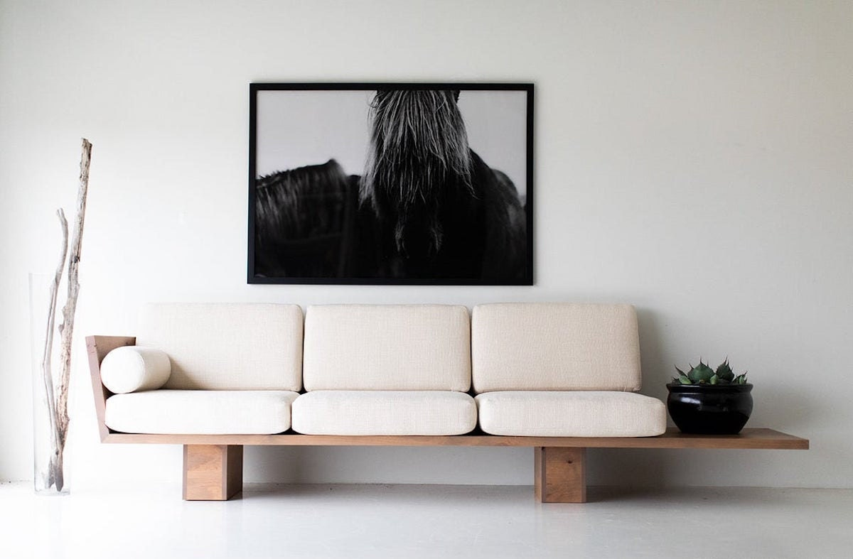 Indoor-outdoor sofa from Bertu Home