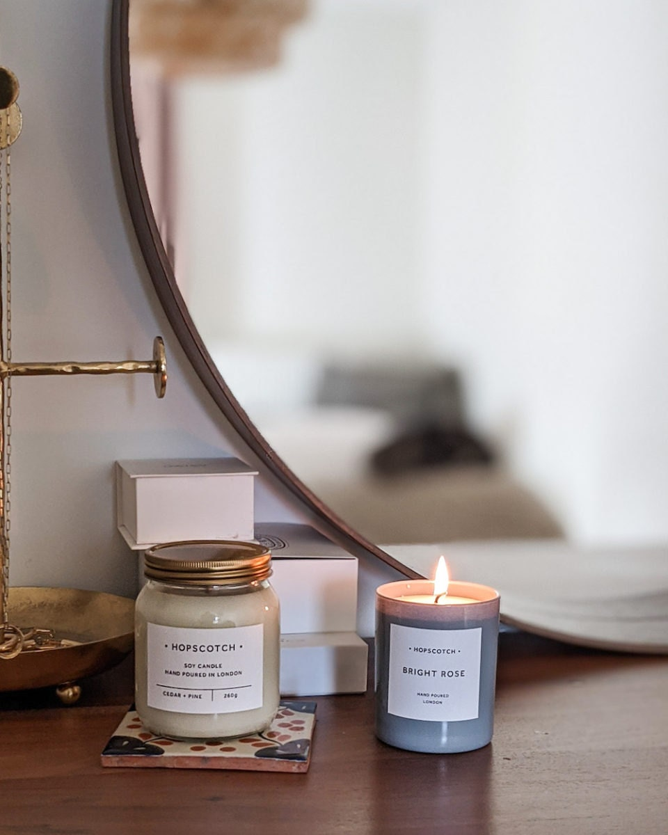 Scented candles from Hopscotch