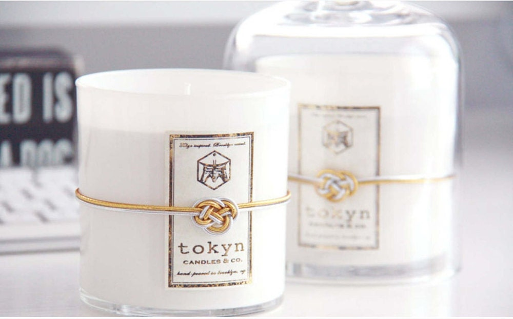 Scented candle gift set from Tokyn Candles