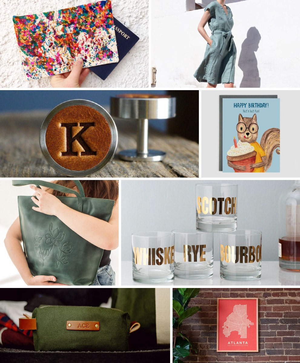 Unique 21st birthday gift ideas from Etsy