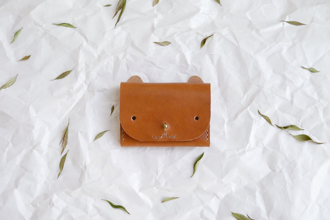 A cat wallet from Small Queue
