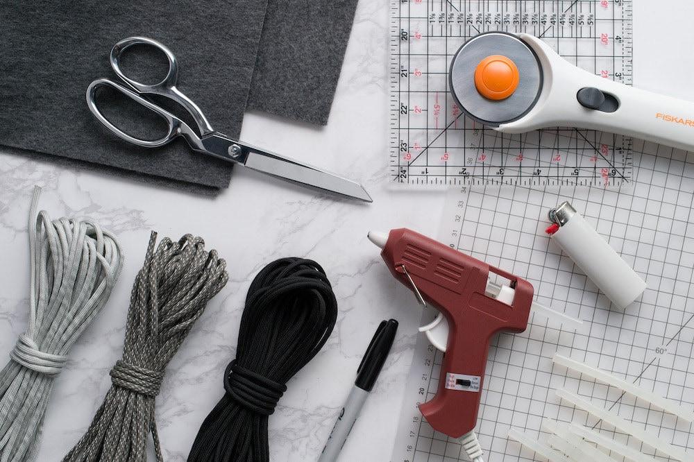 DIY coaster-making supplies